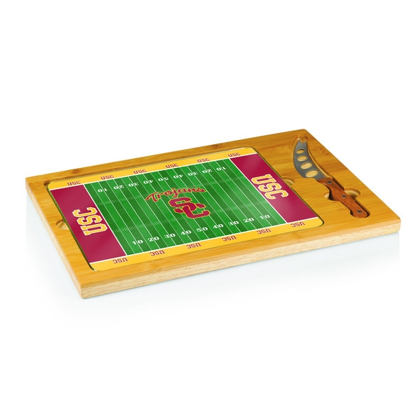 Football Icon University of Southern California Trojans Cheese Tray