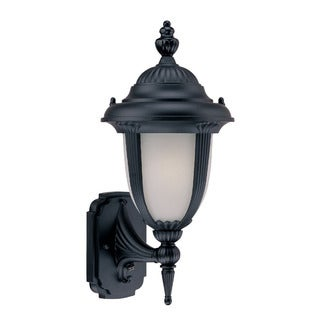 Monterey Energy Star Collection Wall-mount 1-light Outdoor Matte Black Light Fixture