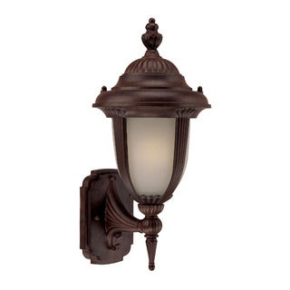 Monterey Energy Star Collection 1-light Outdoor Burled Walnut Light Fixture