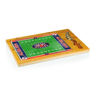 Football Icon Auburn University Tigers Cheese Tray