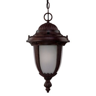 Monterey Energy Star Collection Hanging Lantern 1-light Outdoor Burled Walnut Light Fixture