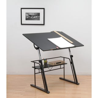 Studio Designs Black Zenith Drafting Table