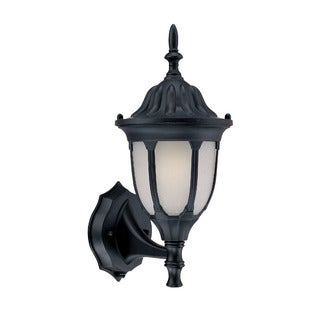 Suffolk Energy Star Collection Wall-mount 1-light Outdoor Matte Black Light Fixture