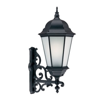 Richmond Energy Star Collection Wall-mounted 1-light 26-watt Outdoor Matte Black Light Fixture