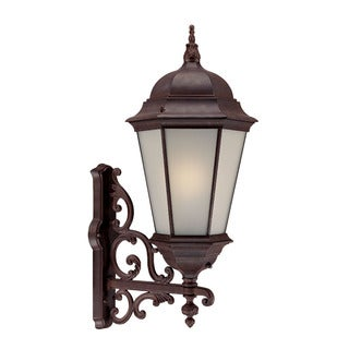Richmond Energy Star Collection Wall-mount 1-light Outdoor Burled Walnut Light Fixture
