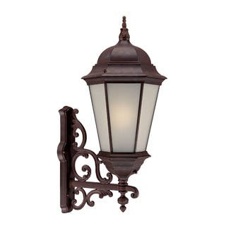 Acclaim outdoor lighting for less overstock richmond energy star collection wall mount 1 light outdoor burled walnut light fixture aloadofball Choice Image