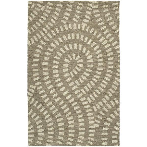 Zoe Light Brown Hand Tufted Wool Rug (2'0 x 3'0)