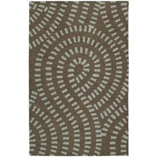Zoe Blue Hand Tufted Wool Rug (3'0 x 5'0)