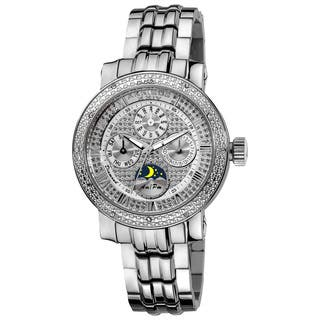 Akribos XXIV Women's Diamond Stainless Steel Silver-Tone Bracelet Watch with FREE GIFT|https://ak1.ostkcdn.com/images/products/8330676/Akribos-XXIV-Womens-Diamond-Stainless-Steel-Bracelet-Watch-P15643247.jpg?impolicy=medium