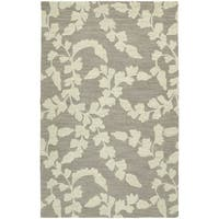 Zoe Grey Hand Tufted Wool Rug - 9' x 12'