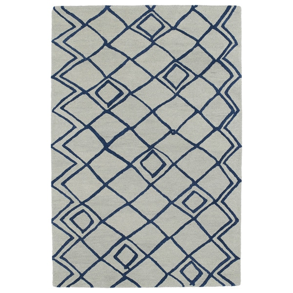 Hand-tufted Utopia Lucca Ivory Wool Rug (9'6 x 13'6)