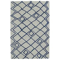 Hand-tufted Utopia Lucca Ivory Wool Rug (8' x 11')