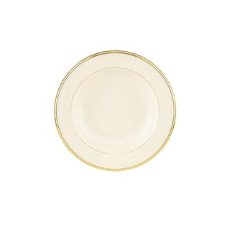 Lenox 'Eternal' Rimmed Pasta and Soup Bowl