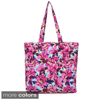 Laura Ashley North/South Quilted Tote