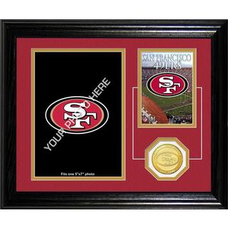 San Francisco 49ers Framed Memories Desktop Photo