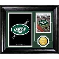 New York Jets Framed Memories Desktop Photo