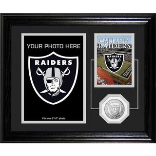 Oakland Raiders Framed Memories Desktop Photo