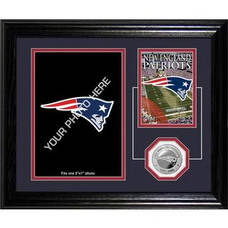 New England Patriots Framed Memories Desktop Photo