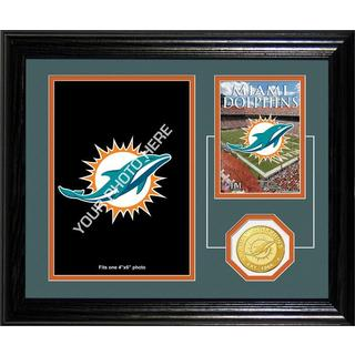 Miami Dolphins Framed Memories Desktop Photo