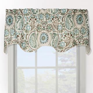 valances for bedroom. Ellis Curtain Paisley Prism Duchess Filler Valance Valances For Less  Overstock com
