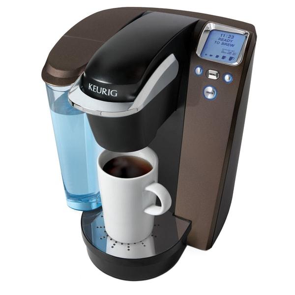 Keurig K75 Mocha Platinum Brewing System wih Bonus 12 K-cups and Water Filter Kit