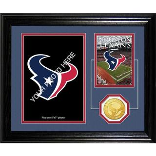 Houston Texans Framed Memories Desktop Photo