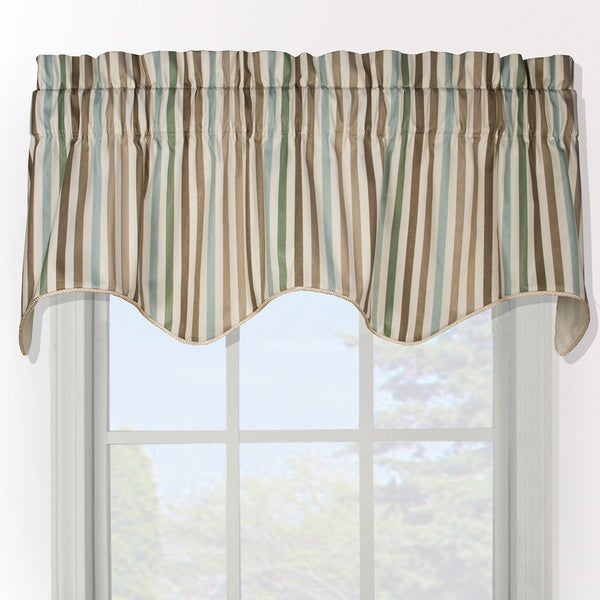 charming Ellis Valance Part - 11: Ellis Curtain Line Up Duchess Filler Valance - 50 x 16