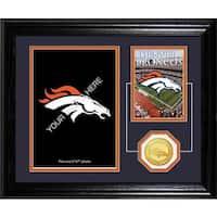 Denver Broncos Framed Memories Desktop Photo