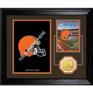 Cleveland Browns Framed Memories Desktop Photo