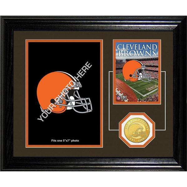 Cleveland Browns Framed Memories Desktop Photo