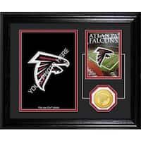 Atlanta Falcons Framed Memories Desktop Photo