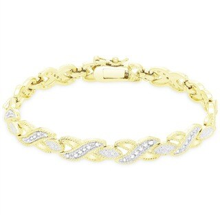 Finesque 1/2ct TDW Diamond Bracelet (I-J, I2,I3)