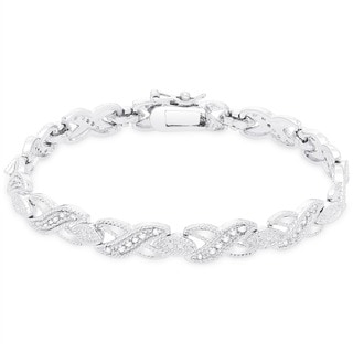 Finesque 1/2ct TDW Diamond Bracelet (I-J, I2,I3)