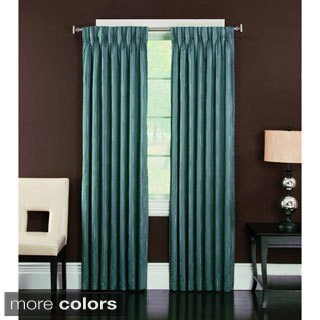 Brielle Home 'Spring Street' Pinch Pleated Lined Curtain Panel
