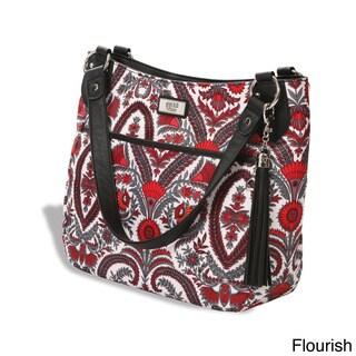 Gigi Hill 'The Carolyn' Patterned Tablet Handbag