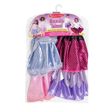 Melissa & Doug Goodie Tutus! Dress-Up Skirts