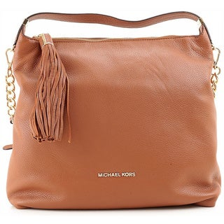 Michael Kors Weston Large Top Zip Shoulder Bag - Luggage