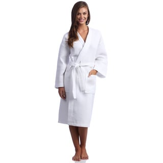 Waffle Kimono Multi-stitch Turkish Bath Robe