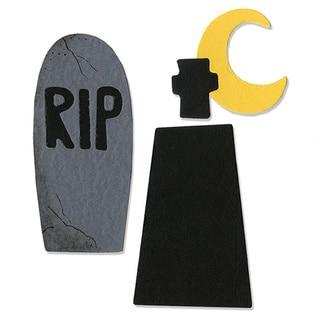 Sizzix Sizzlits Graveyard Die Set (3 Pack)
