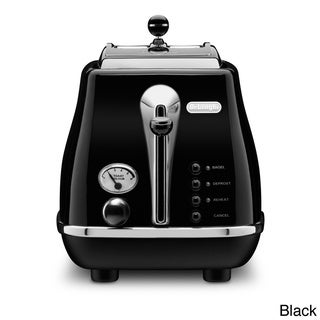 DeLonghi Icona 2-slice Toaster Black