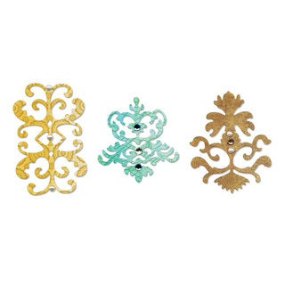 Sizzix Sizzlits Decorator Icons Die Set (3 Pack)