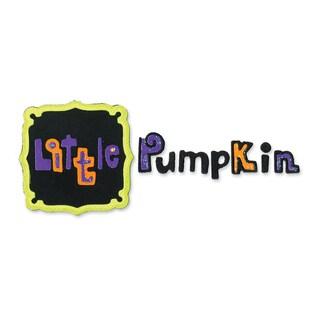 Sizzix Sizzlits Little Pumpkin Phrase Die Set