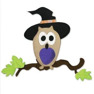 Sizzix Bigz Owl/ Witch Hat Die