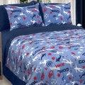 Veratex Soccer Locker 4-piece Comforter Set