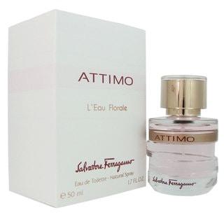 Salvatore Ferragamo Attimo L'Eau Florale Women's 1.7-ounce Eau de Toilette Spray