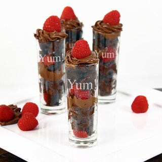 'YUM!' Dessert Shooter Set (Set of 4)