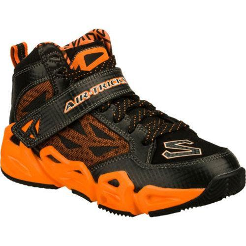 a93dc6c8555 Shop Boys  Skechers Air-Mazing Kid Hoopz Black Orange - Free Shipping On  Orders Over  45 - Overstock - 8332347