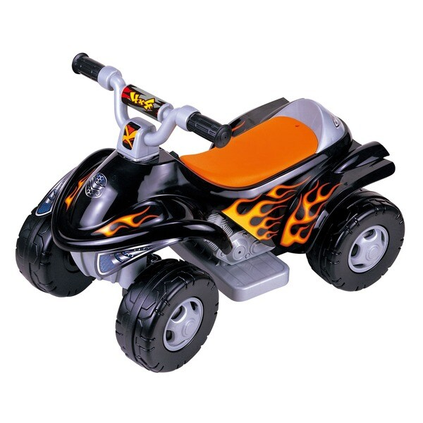 Power Black 4 x 4 ATV Ride On