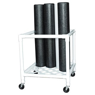 Cando Foam Roller Upright Storage Rack (Rollers not Included)