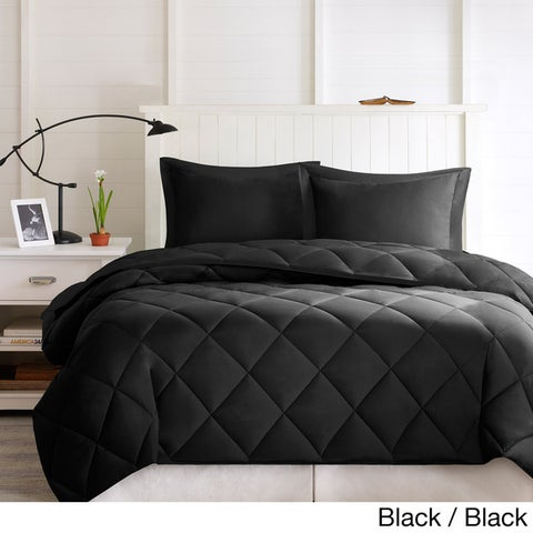 Porch & Den McCloy Reversible Down Alternative Comforter Mini Set